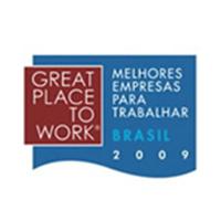 Entre as 100 melhores empresas para trabalhar - Brasil 2009
