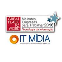 Melhores Empresas para Trabalhar GPTW - Tecnologia da Informação.